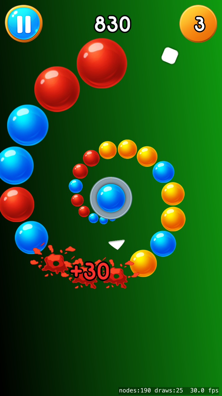 Vortigo - Bubble Shooting game on iPhone 7